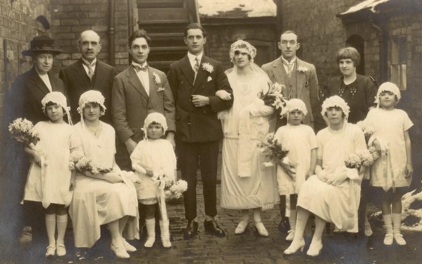 Wedding of Gerald and Katherine 26.12.1925
