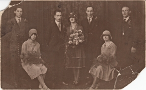 Wedding of Herbert and Edith c 1929