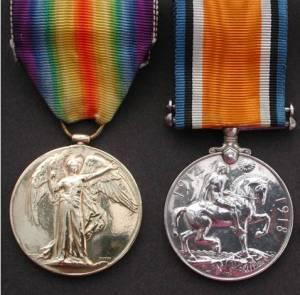 Scott, Harold medals