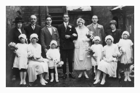 Marriage of Katherine Fearn to Gerald Lacey 26th December 1925